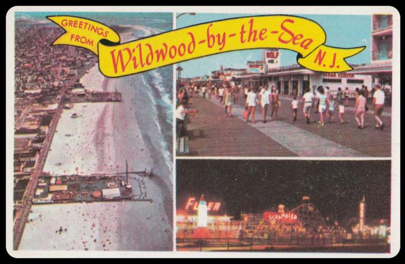 Greetings from Wildwood-by-the-Sea N.J.