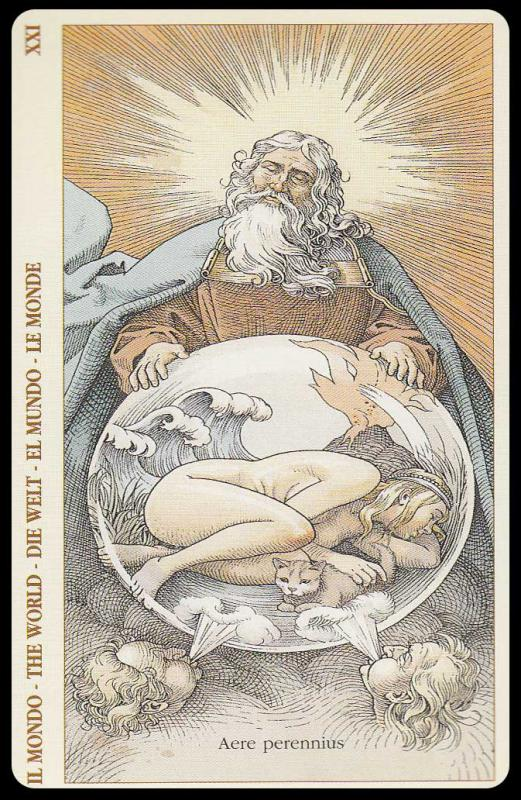Таро дюрера (the tarot of dürer)