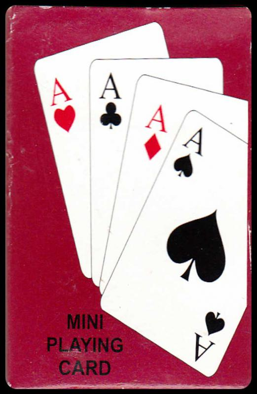 Mini Playing Cards I