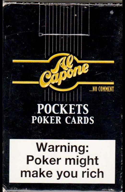 Al Capone- Pockets Poker  Cards