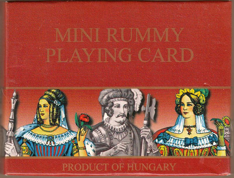 Mini Rummy Playing Card