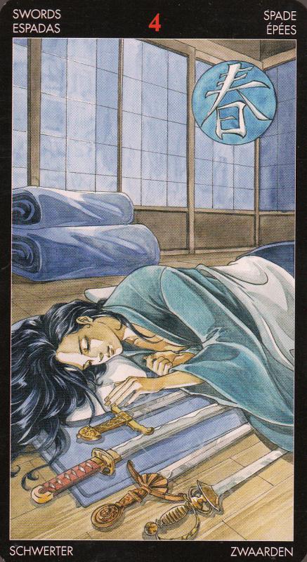 Таро беременность мечи